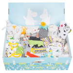 ベビーボックスは日本から通販可能。ムーミンの国フィンランドから出産準備をお手伝い!