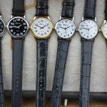 革ベルト仕様の腕時計の汗対策。汗に強いベルトに換えてオールシーズン楽しむ!