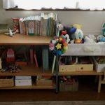 3歳の子どものおもちゃとぬいぐるみ収納。見える&ゆとり収納で「片付けて!」を減らそう