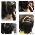 保育園・幼稚園女の子の髪型。帽子・お昼寝もOKの崩れにくい簡単アレンジ集